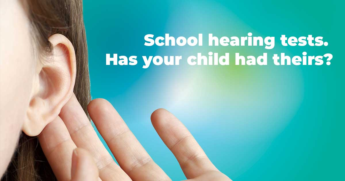 The importance of school hearing tests
